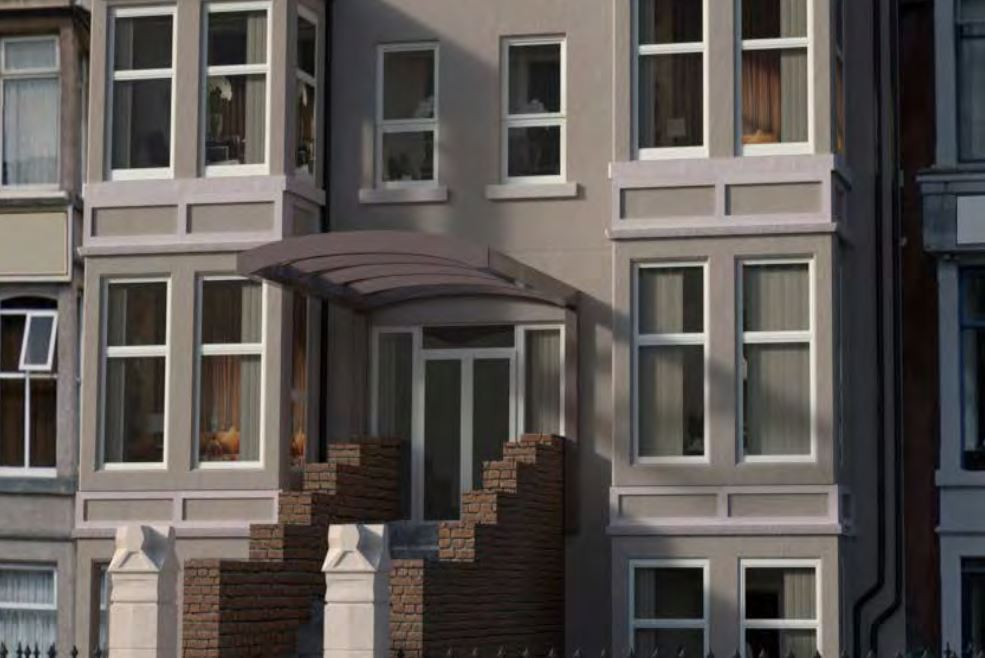 St Camilus Blackpool Care Home Investment Exterior