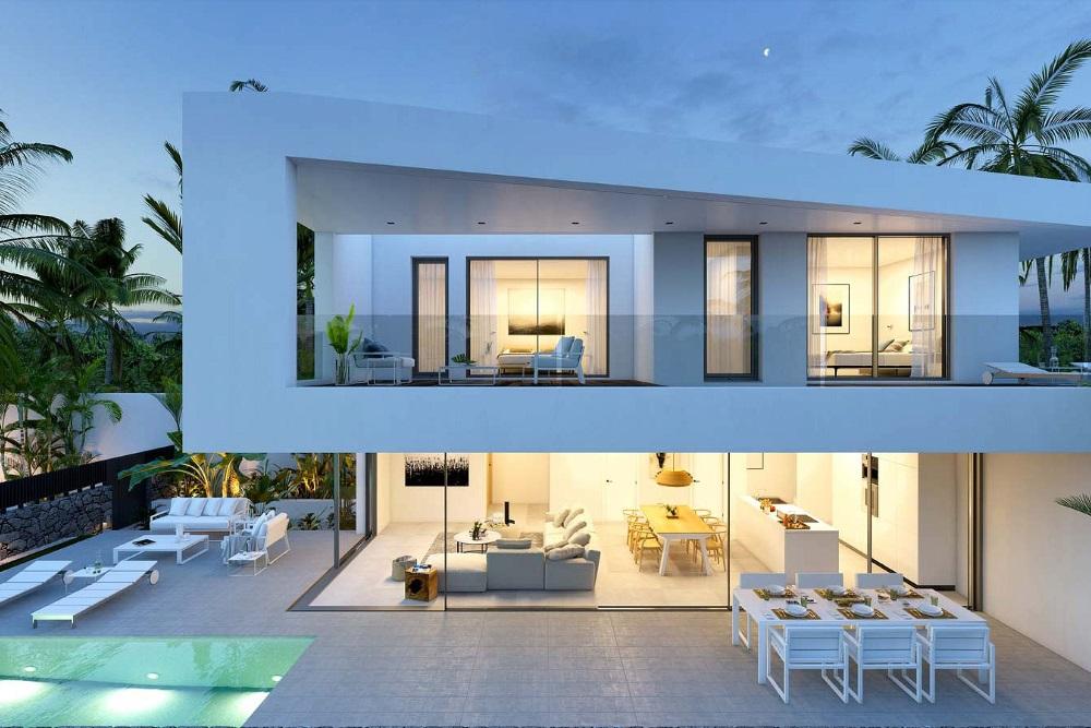 Luxury villas tenerife casas del lago exterior