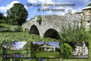 Care Home Investment UK 8-10% returns
