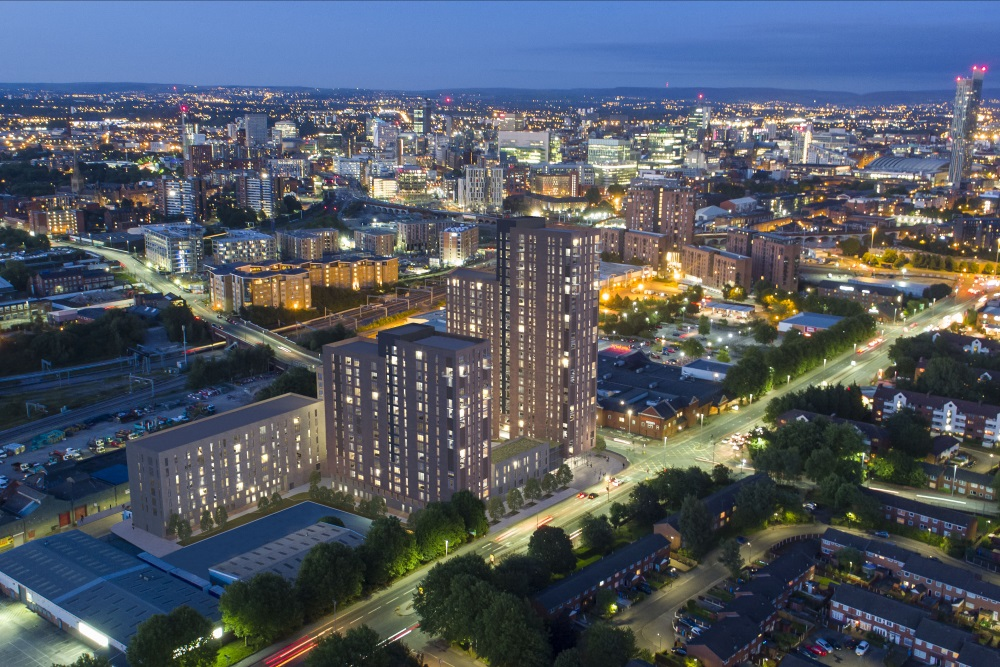 Regent Plaza aerial view