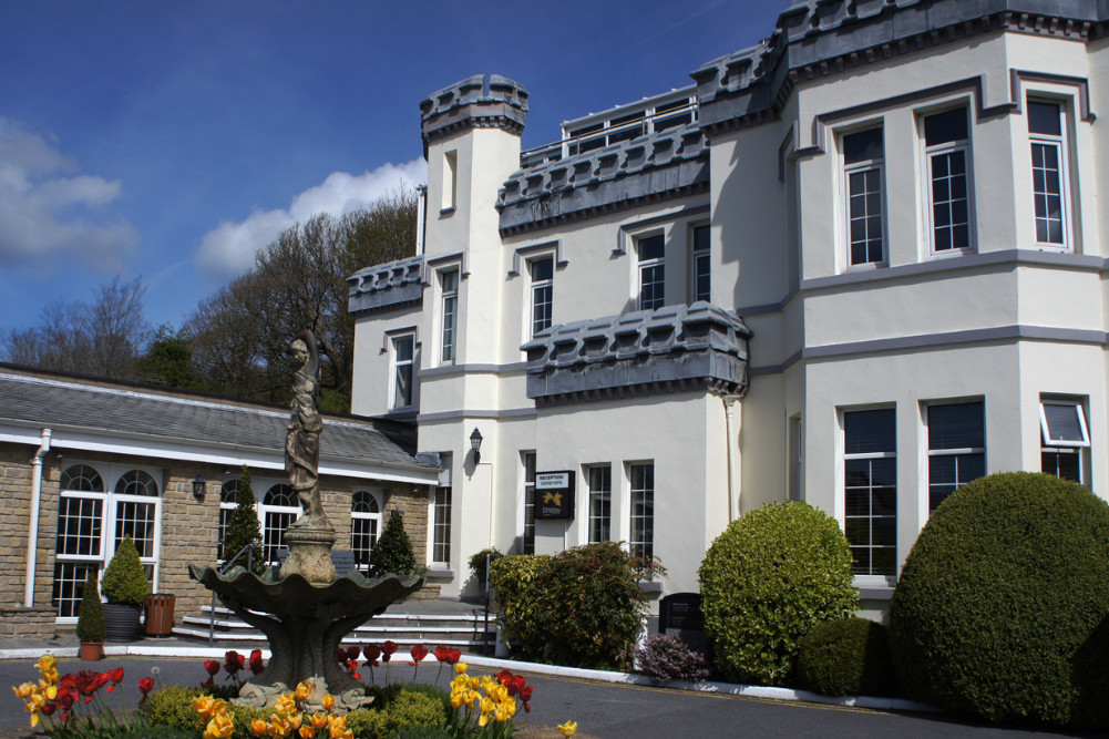 Stradey Park Hotel exterior by day