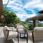 El Nido Beach Philippines terrace