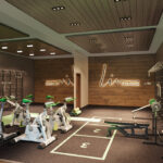 Luxury lodge investment UK The Hideaway gym