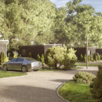 Luxury lodge investment UK The Hideaway lodges rear view