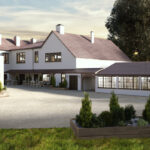 Luxury lodge investment UK The Hideaway pub entrance