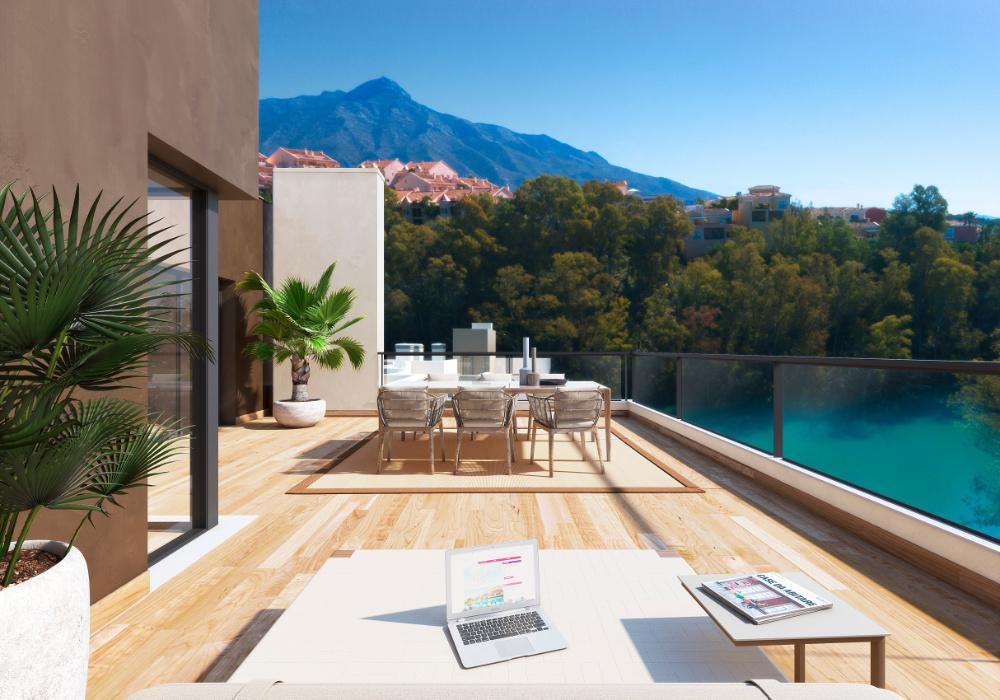 Marbella Lake apartments Nueva Andalucia