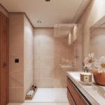 Marbella Lake apartments Nueva Andalucia bathroom