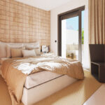 Marbella Lake apartments Nueva Andalucia bedroom