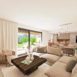 Marbella Lake apartments Nueva Andalucia living area