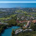 Marbella Lake apartments Nueva Andalucia panoramic views