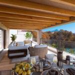 Marbella Lake apartments Nueva Andalucia terrace