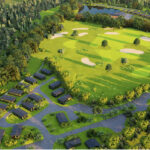 Silverwood Lodges Scotland lodges investment - aerial view 1