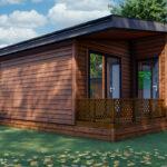 Silverwood Lodges Scotland lodges investment - lodge exterior
