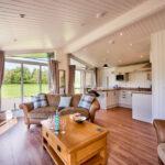 Silverwood Lodges Scotland lodges investment - main living area