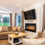Silverwood Lodges Scotland lodges investment - seating area