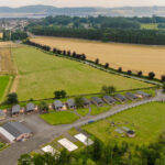 Silverwood Lodges Scotland lodges investment - aerial view 2